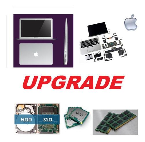 conserto e upgrade de apple macbook pro air a partir de