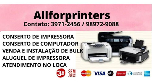 conserto impressora
