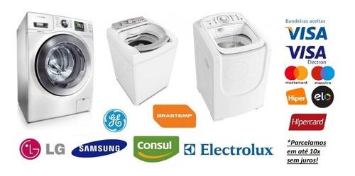 conserto maquina de lavar e lava e seca