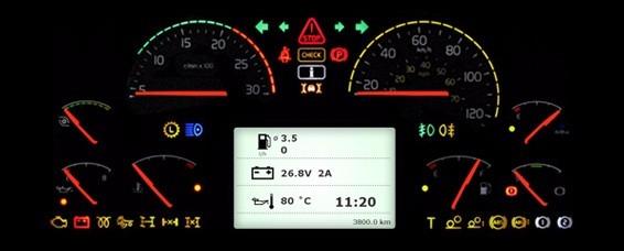 Conserto Painel Caminhão Volvo Fh / Nh / Vm Velocímetro - R$ 900,00 em Mercado Livre