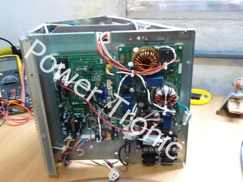 conserto placa ar condicionado inverter split reparo