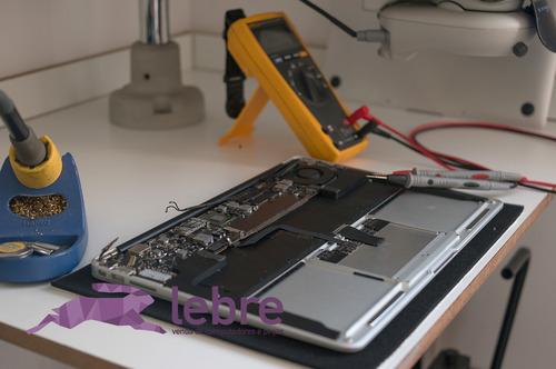 conserto reparo placa mãe macbook e imac - lebre parts
