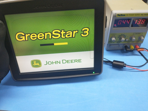 conserto vazamento display monitor gps john deere 2630