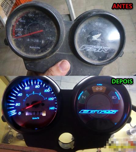 conserto velocímetros carenagens bombas combustíveis de moto