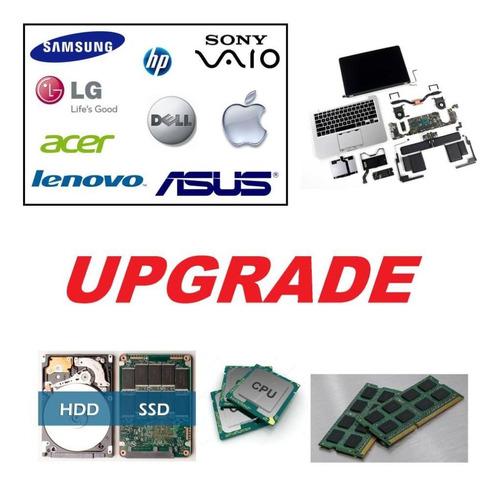 consertos e upgrades de notebooks ultrabooks a partir de