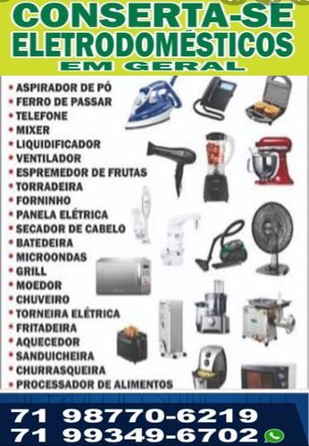 consertos, manutenção, instalação e serviços