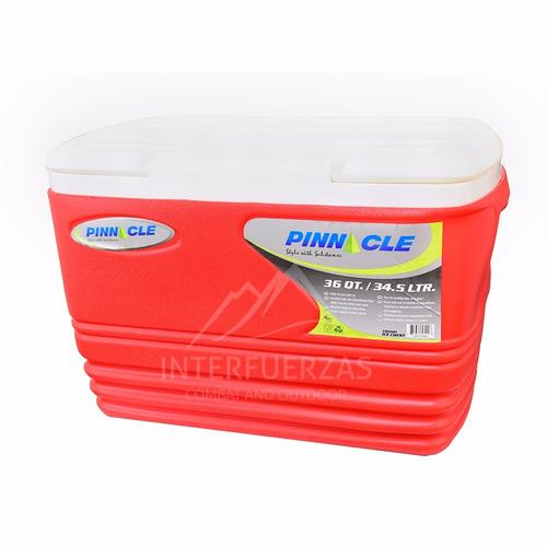 conservadora 34 litros compacta y reforzada azul o roja