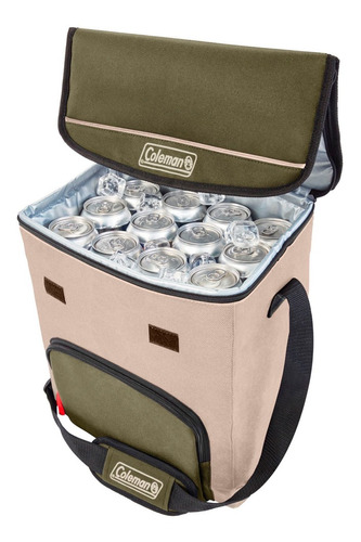 conservadora bolso termico coleman 34 latas olive coleman