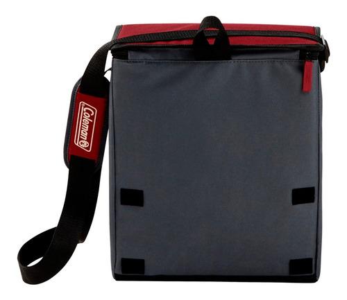 conservadora bolso termico coleman 34latas rojo coleman