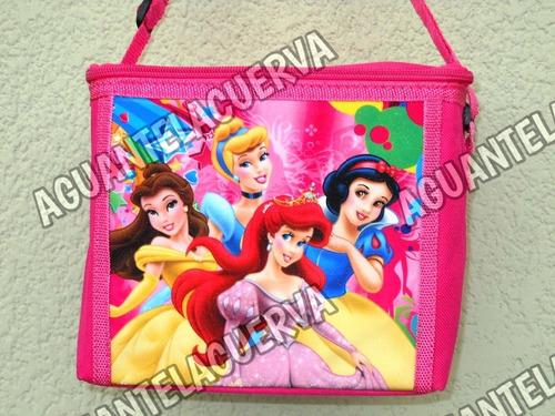 conservadora bolso termico lunchera infantil princesas web