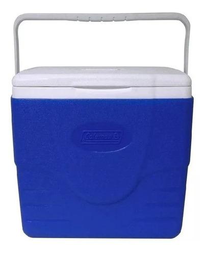 conservadora coleman beach 16qt azul 15,1 litros (no envios)