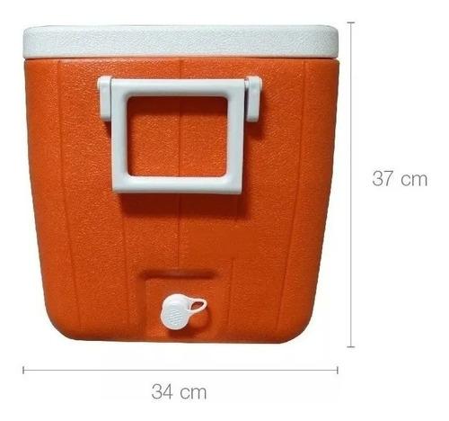 conservadora coleman beach 48 qt naranja (45.4 litros)