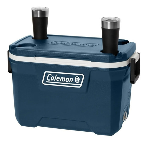 conservadora coleman chest 52qt blue night (49.2 litros)