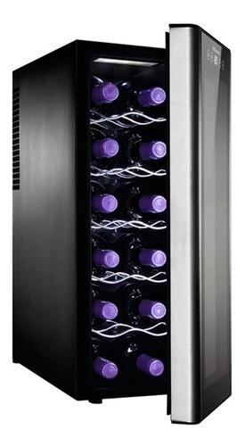 conservadora de vino 12 botellas electrolux erw125xamb