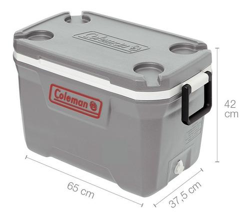 conservadora heladera coleman chest 52qt 49 lts termica - mm