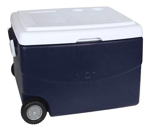 conservadora heladerita portatil ruedas camping 70 l mor