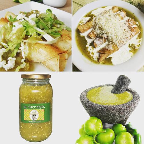 conservas y salsas tipo mexicaca salsa verde taquera mexican
