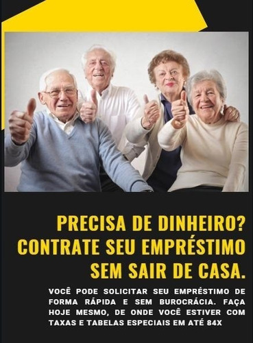 consignado pensionistas inss - contrate online - aposentado