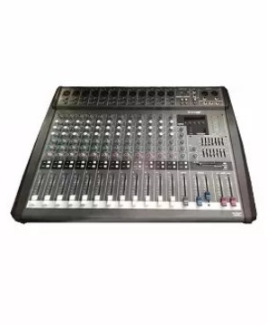 consola 12 canales+parlantes+tripodes+cables envio