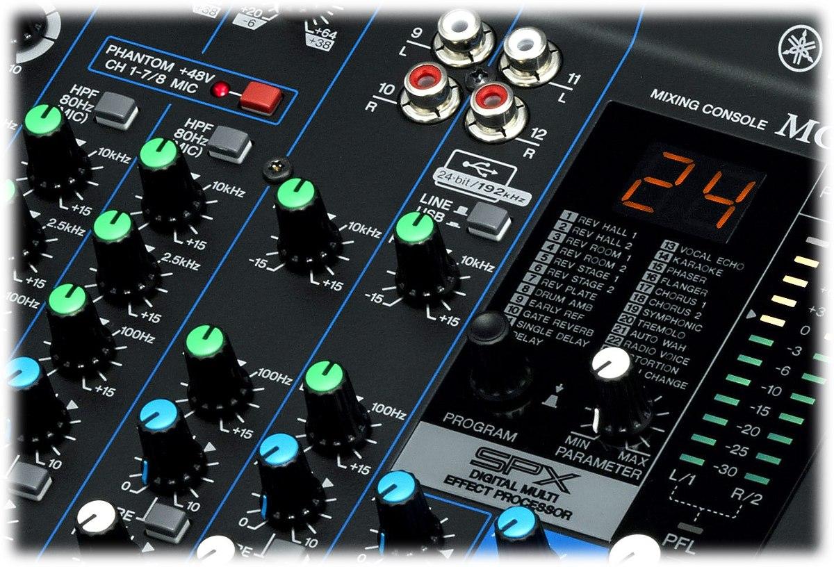 Consola 12 Canales Yamaha Mg12xu Con Efectos Digitales Ofert - U$S 469,00  en Mercado Libre
