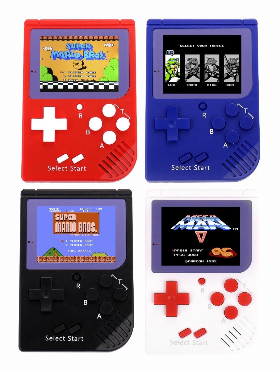 Consola 129 Juegos Nintendo Nes Mario Bros Mega Man Contra