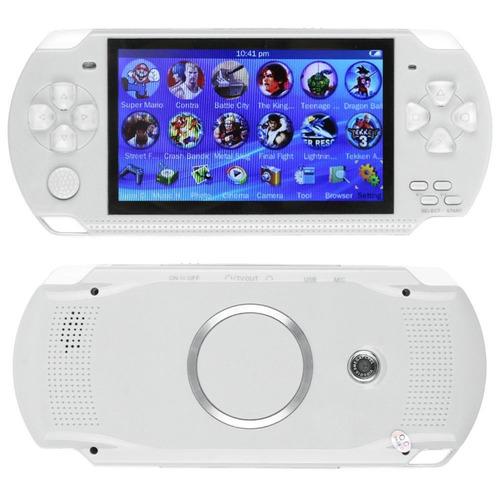 consola 32bits 4gb slot hasta 32gb  con juegos  cámara foto