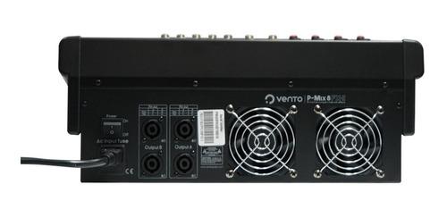 consola activa vento p-mix8fx-ii 8 canales con efectos