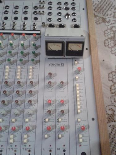 consola allen & heath/mbi studio 12 (radiodifusión)