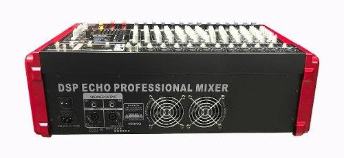 consola amplific. osq de 12 canales, 1000 watts, multi efect