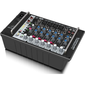 Consola Amplificada 8 Canales 500 W Behringer Pmp500mp3