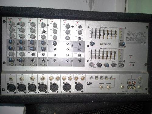 consola amplificada crate pro audio px700 sonido