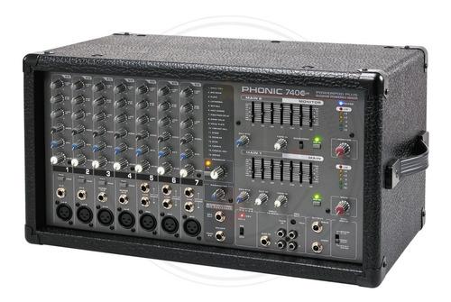 consola amplificada phonic powerpod 740 plus de 7 canales