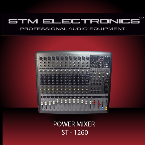 consola amplificada stm electronics nuevo 850+850 usb blueto