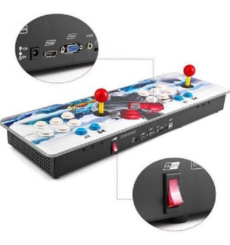 consola arcade pandora box 5s palanca 999 juegos tablero