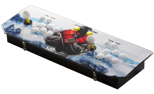 consola arcade pandora box 6s 1388 juegos tablero 2 joystick
