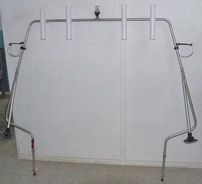 consola - arco radar - guardamancebo - toldilla -butacas