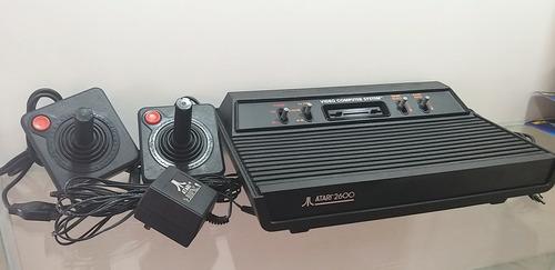 consola atari 2600 completa - nintendo - playstation, video