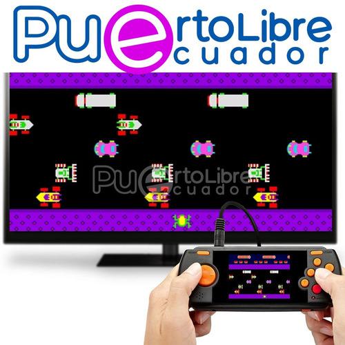consola atari portable - nuevo original + gratis!! 70 juegos