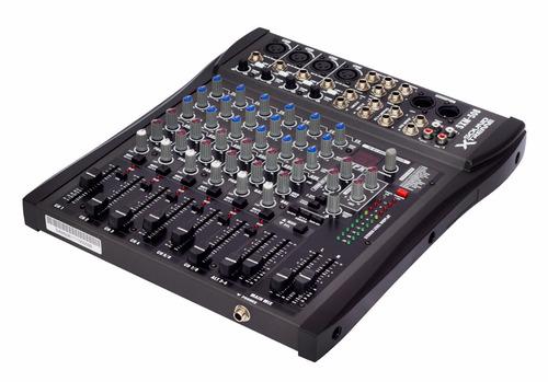 consola audio canales con