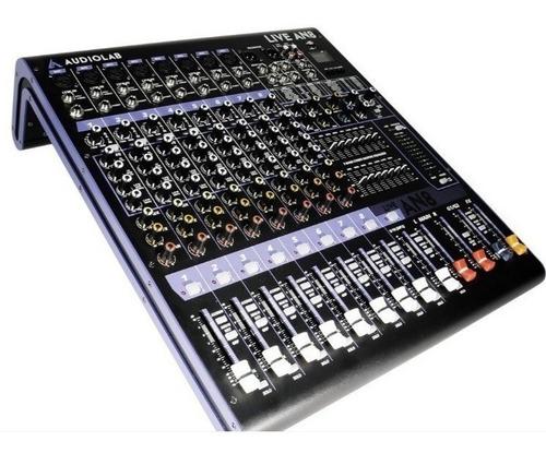 consola audiolab modelo live an8 garantia / abregoaudio