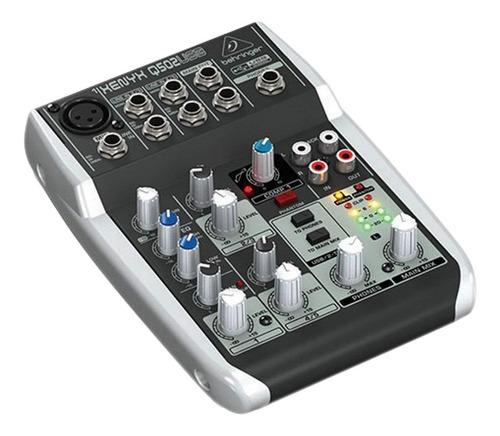 consola behringer mezcladora xenyx q502usb q502 502usb usb