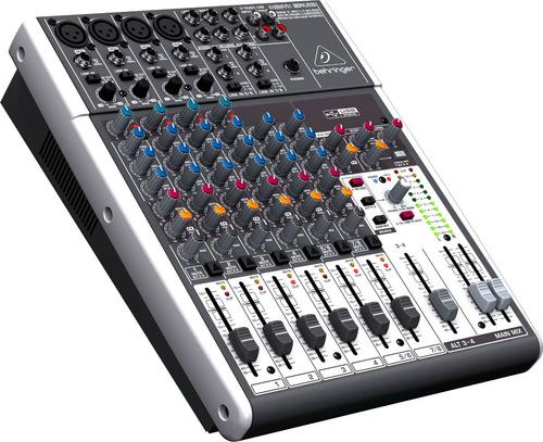 consola behringer xenyx 1204 usb 6 canales mixer estudio pro