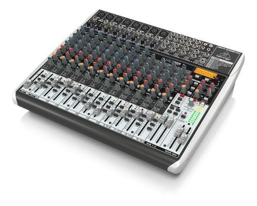 consola behringer xenyx qx2222 usb mesa de mezcla