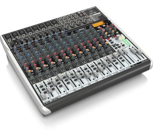 consola behringer xenyx qx2222 usb mesa de mezcla tv