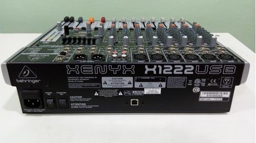 consola behringer xenyx x1222 usb