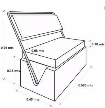 consola - butacas - arco radar - guardamancebo - toldilla -