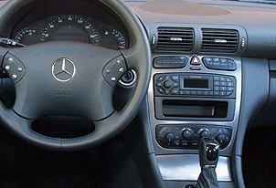 consola cambio radio mercedes clase c 2001-2006