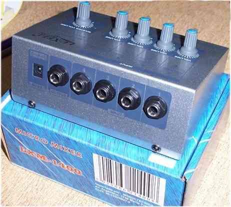 consola canales mixer