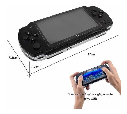 consola con juegos