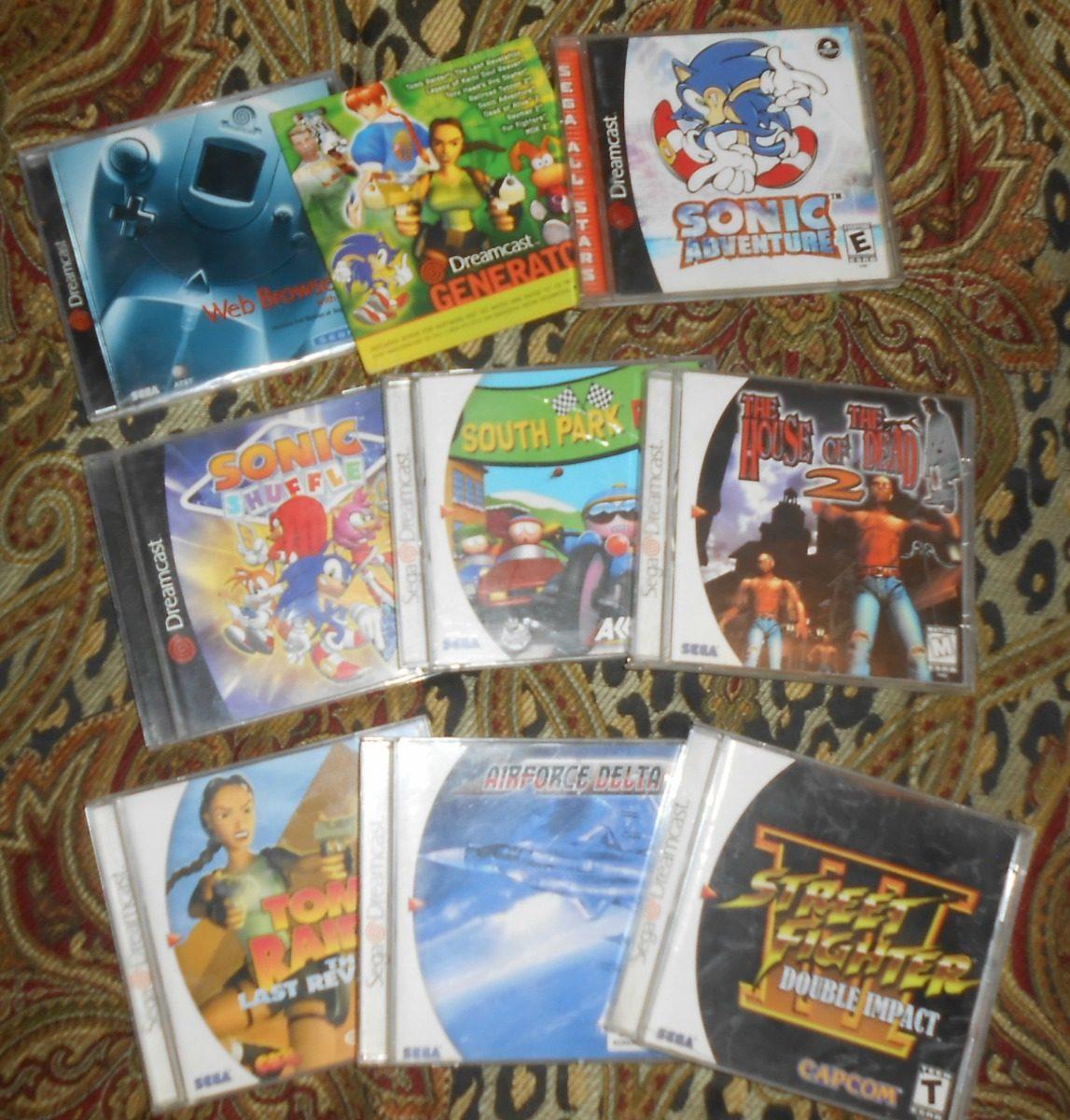 Sega Dreamcast Consola Completa Con 7 Juegos Remate 3 599 00 En